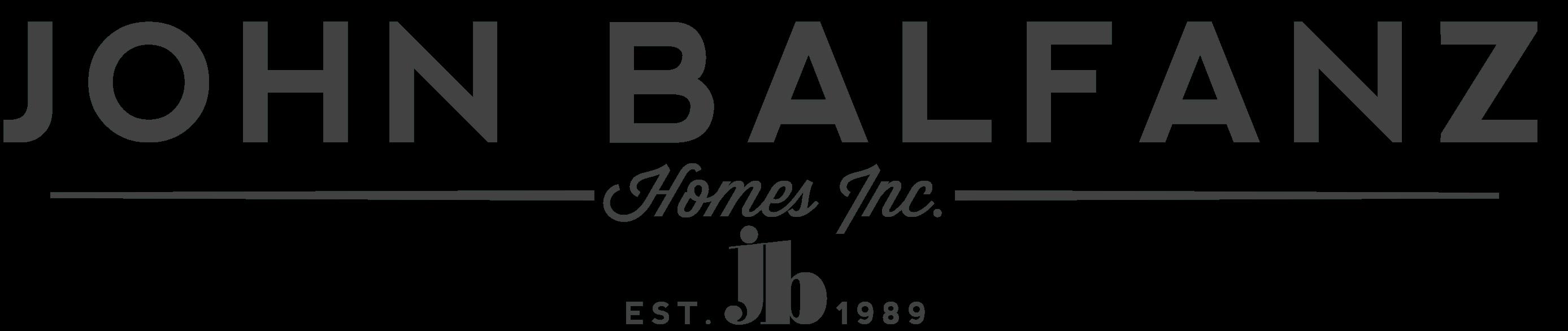 John Balfanz Homes
